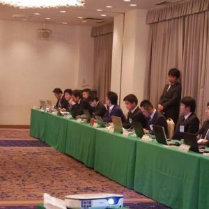 奈良ブロック協議会 役員の皆様。